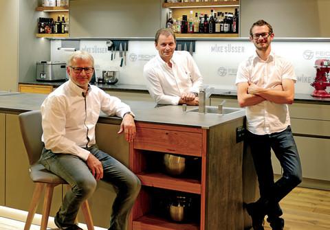 Gerhard, Helmut & Stefan Feichtinger Geschäftsführung